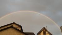 大きな虹♪