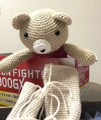 あみぐるみをまた編みかけました