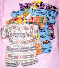 ベビーキッズ 甚平、Tシャツ、ロンパース新作入荷!&ナスとひき肉のムサカ♪