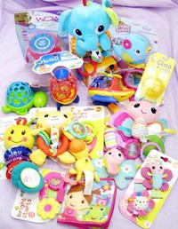 ベビー新作 おもちゃ、アクセサリー入荷!&えびドリア♪