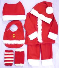 ベビーキッズ Christmas サンタ コスチューム、ブーティ、アウター新作入荷!&白子♪