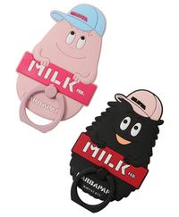 MILKFED. ミルクフェド バーバパパ アイフォン ケース2、スマホ リング 発売!&鶏てり♪