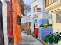 雑賀崎の風景画