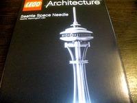 LEGO Architecture シアトルスペースニードル