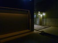 夜に・・・