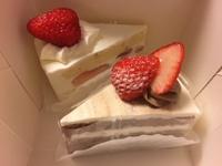 久しぶりにケーキ