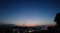 空にはキラキラ一番星☆