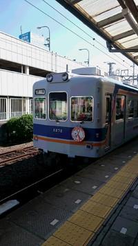 オレンジリボン電車とうめぼし電車