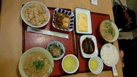 小豆島食堂で夕御飯