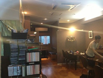 『かえりみちのブルー 』 ランチ&カフェ 「有田川町」店内