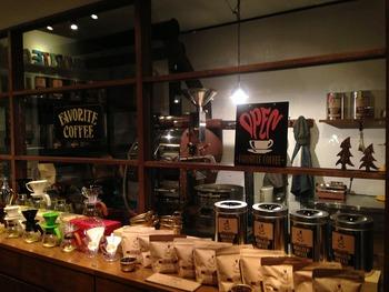 『フェイバリットコーヒー 』 ランチ&カフェ 「岩出市」店内2