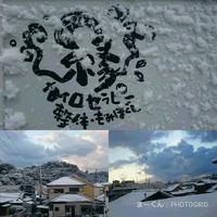 雪が作った世界