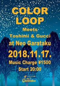 COLOR LOOP meet Toshimi & Gucci