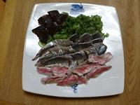 〆魚ときゅうり