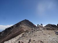 乗鞍岳登頂