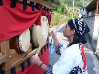 千田祭り、宵宮
