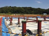 保育園の建設現場