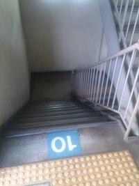 階段登り降り