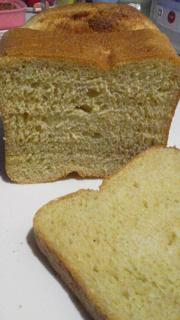 熟し柿で食パン