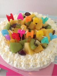 誕生日ケーキ…♬