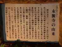 鶏足寺、永源寺見物-5