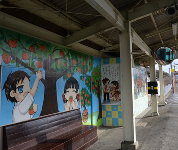 撮影会で橋本市へ (隅田駅周辺)