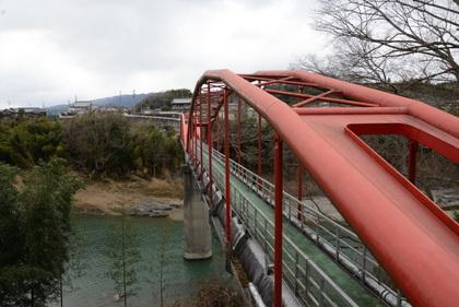 撮影会で橋本市へ  (恋野橋と紀の川水管橋)