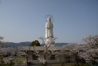 かつらぎ町へ (平和祈念像)