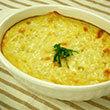 ふわふわ山芋のれんこんチーズ焼き