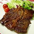 バーベキュー風牛ステーキ