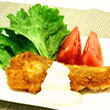 白身魚の揚げ焼きフライ 梅ぽんマヨ