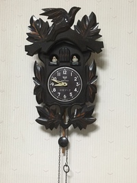 羽車ソースの鳩時計