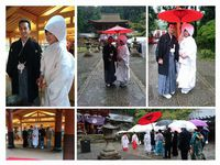 天野の里・丹生都比売神社で結婚式