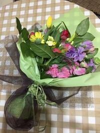 花でブーケ