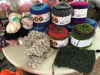 急に涼しくなったので編み物でも…