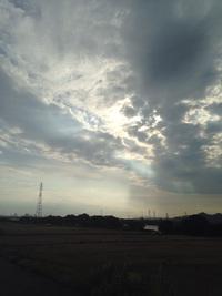 雨が来る。