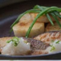 ぶりと長芋のステーキ