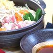豚肉とたっぷり野菜のすだちぽん酢鍋