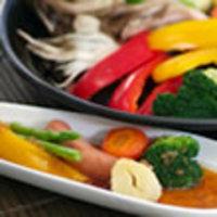 焼き野菜の玉ねぎドレッシング