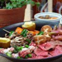 美味しいタレで食べる野菜たっぷり焼肉