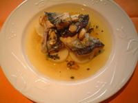 秋刀魚のバスク風ヴィネグレットソース