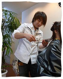 """Hairs D.H.K""個性豊かなスタッフたち偏!"