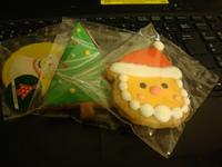 かわいいクッキーが!!