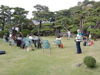 和歌山県公館でライブ
