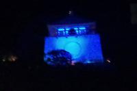 紀三井寺ブルーライトアップされました。