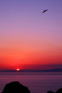 2012の軌跡 夕日の写真