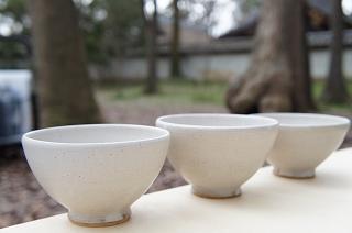 シンプルな茶碗