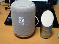 ソニーLF-S50G 直径10cmくらい、高さ15cmくらいの円筒形です 色は白