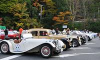高野山に世界のクラシックカーが集結