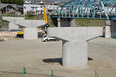 貴志川諸井橋架替え